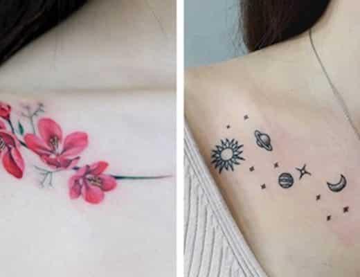 tatouages d'épaules