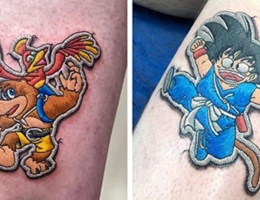tatouages patchs