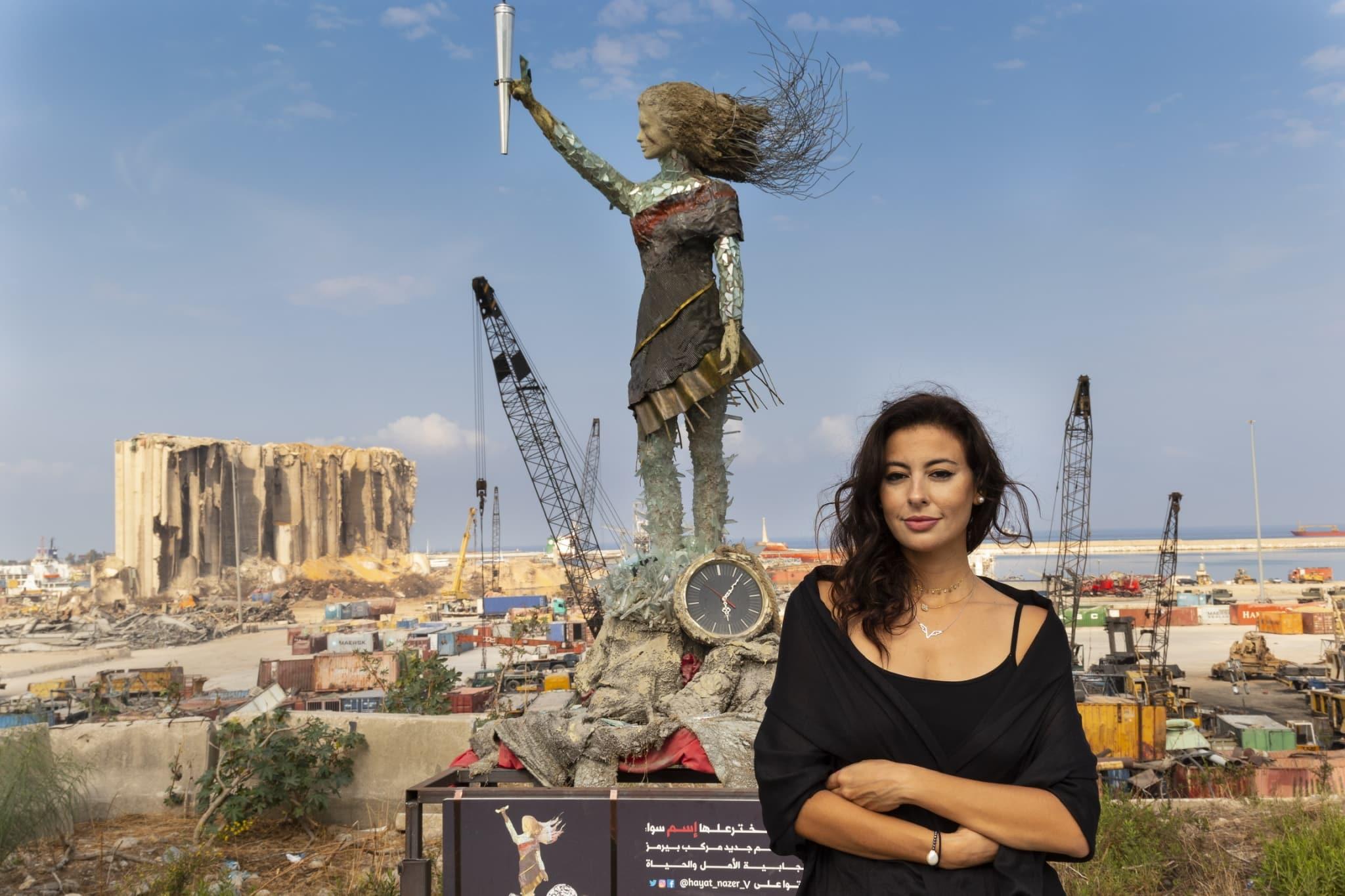 Une artiste libanaise