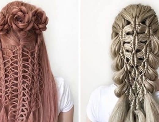 coiffures étonnantes