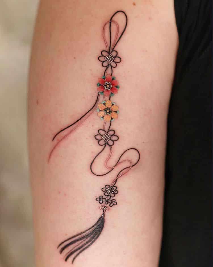 tatouages d'art traditionnel coréen