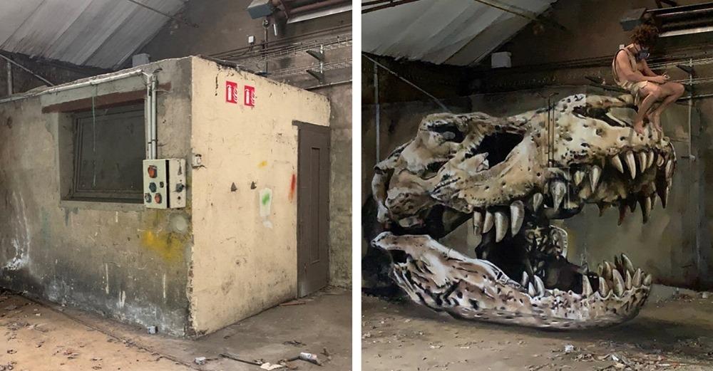 graffiti 3D incroyable