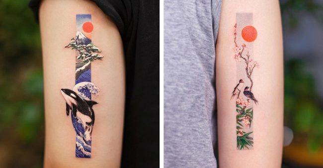 tatouages subtiles