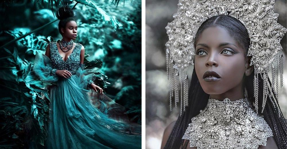 portraits de femmes noires