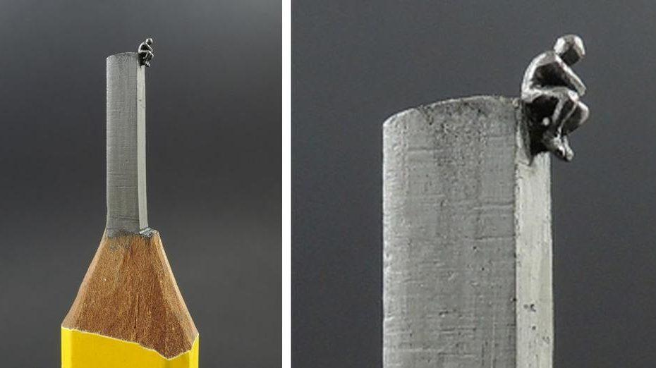 crayons en petites œuvres