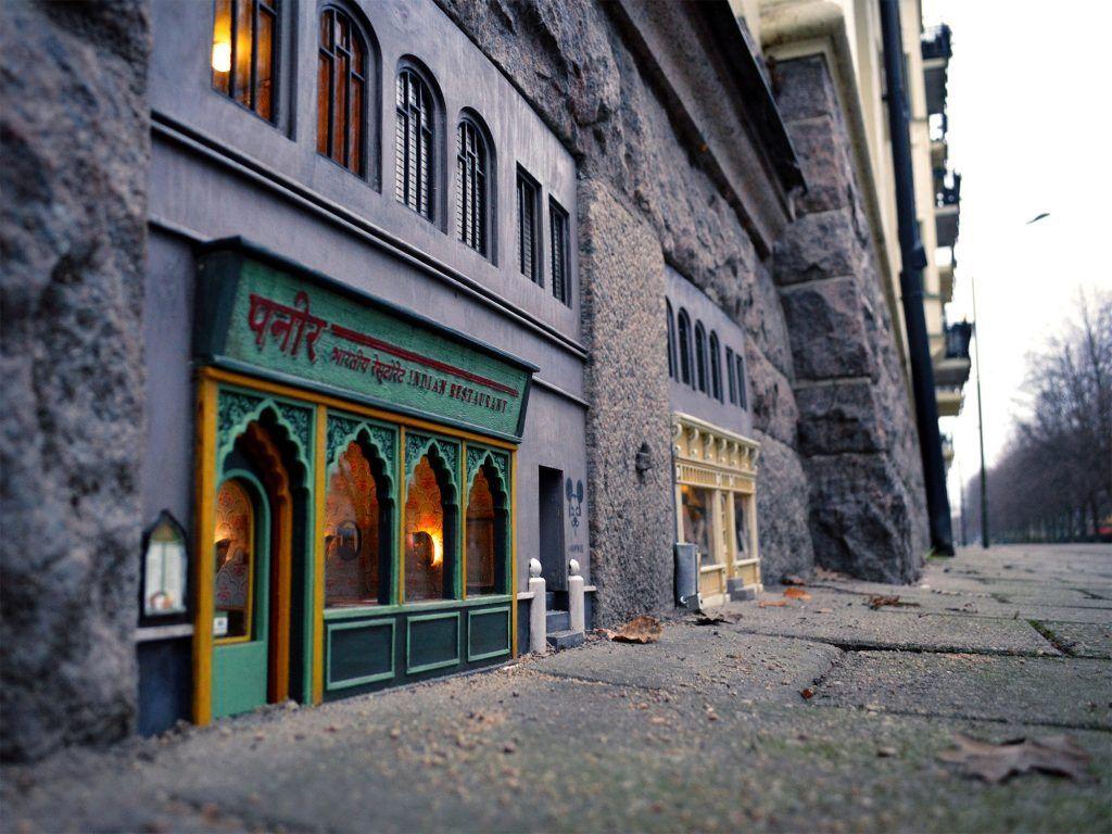restaurants miniatures