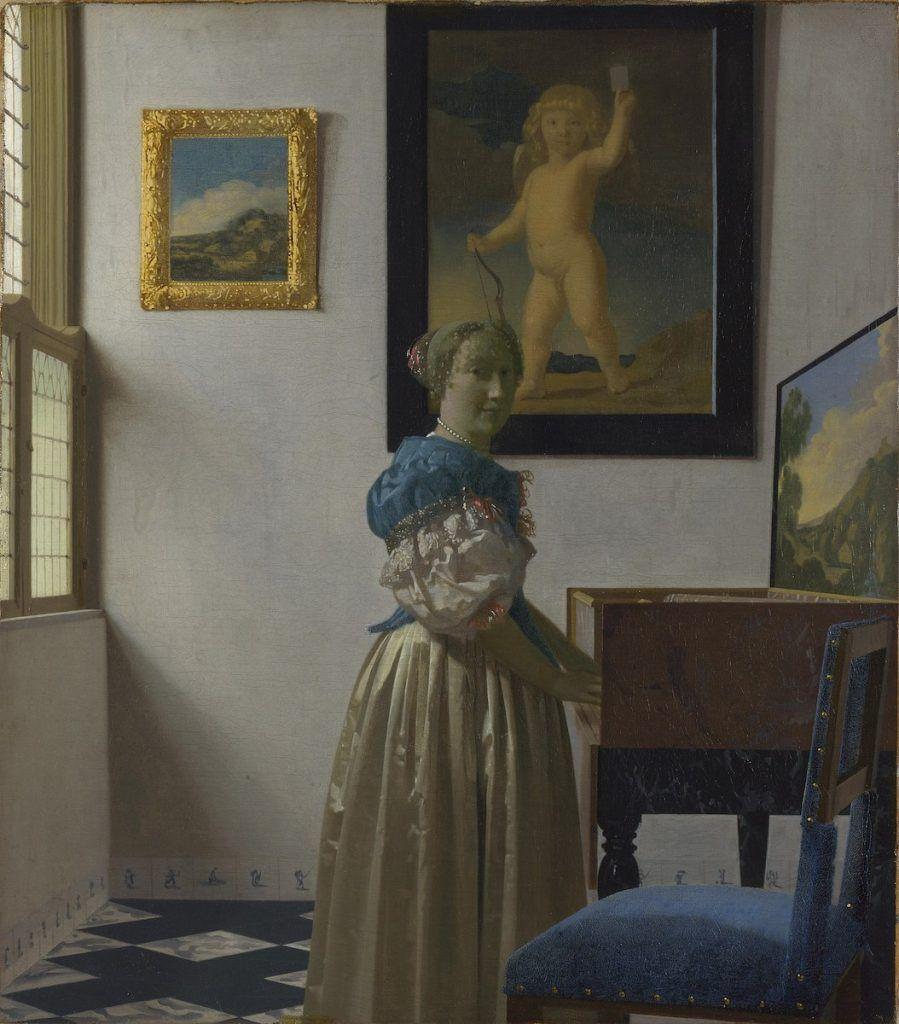peinture de Vermeer